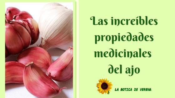 Las increíbles propiedades medicinales del ajo