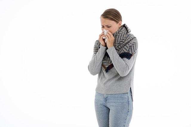 Manzanilla para el resfriado